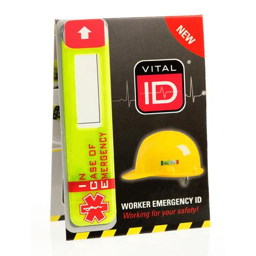 Vitalid Emergency ID Data Window (Ice) Ref WSID02G *Up to 3 Day Leadtime*