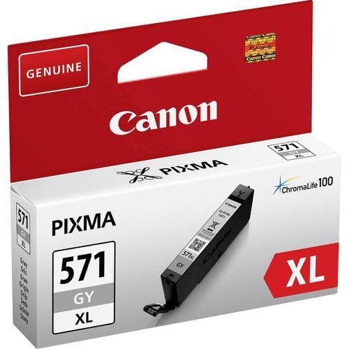 Canon CLI-571XL Inkjet Cartridge High Yield Page Life 289pp 11ml Grey Ref 0335C001