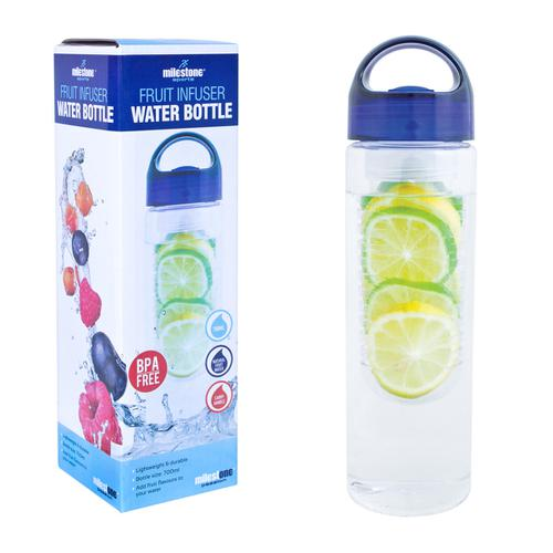 Milestone Infuser Water Bottle 750ml Ref 0303025