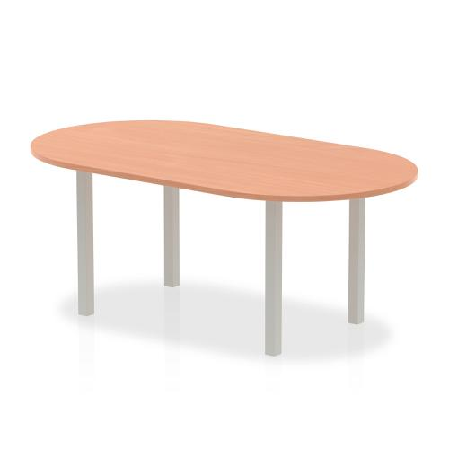 Trexus Boardroom Table 1800x1200x730mm Beech Ref I000083