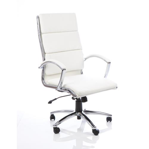 Adroit Classic Executive Chair With Arms High Back White Ref EX000009