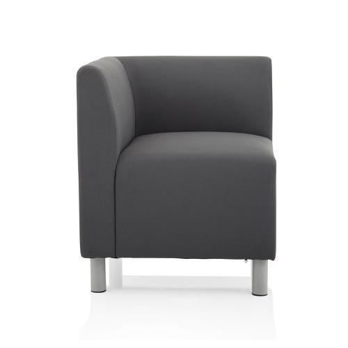 Trexus Melia Corner Sofa Fabric Grey Ref BR000216
