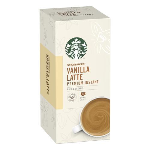 Starbucks Vanilla Latte Sachets 6 Boxes Each with 5 x 107g Sachets Ref 7613038558677