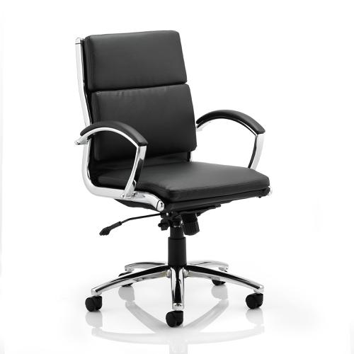 Adroit Classic Executive Chair With Arms Medium Back Black Ref EX000010