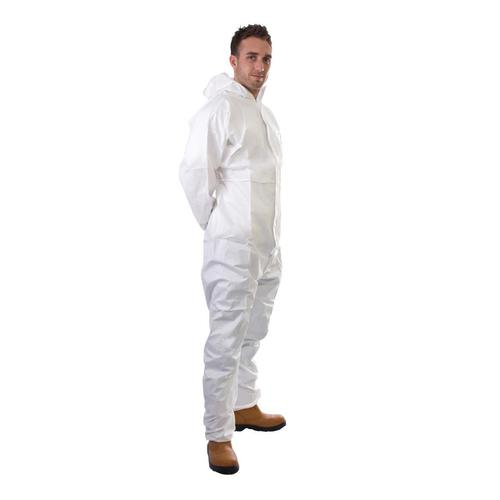 Supertouch Supertex Plus Coverall Type 5/6 Protection XXXLarge White Ref 17906 *Approx 3 Day Leadtime*