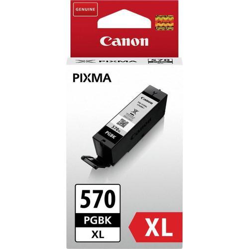 Canon PGI-570PGBK Inkjet Cartridge High Yield Page Life 500pp 22ml Black Ref 0318C001