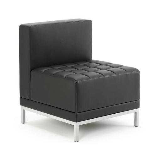 Sonix Modular Reception Chair Bonded Leather 660x520x440mm Ref BR000200