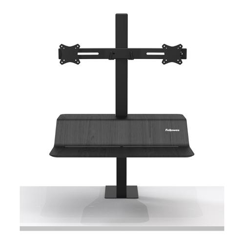 Fellowes Lotus VE Sit-Stand Workstation Dual Ref 8082001