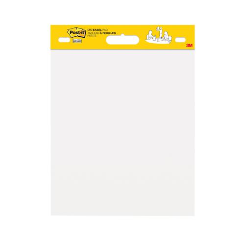 Post-It Mini Meeting Chart 20 sheets 381x457mm White Ref 577SS