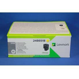 Lexmark C4150 Laser Toner Cartridge Page Life 16000pp Yellow Ref 24B6518