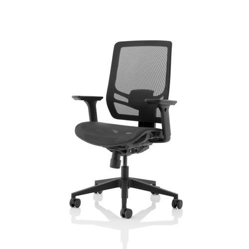 Trexus Ergo Twist Mesh Seat Mesh Back Black Ref OP000253