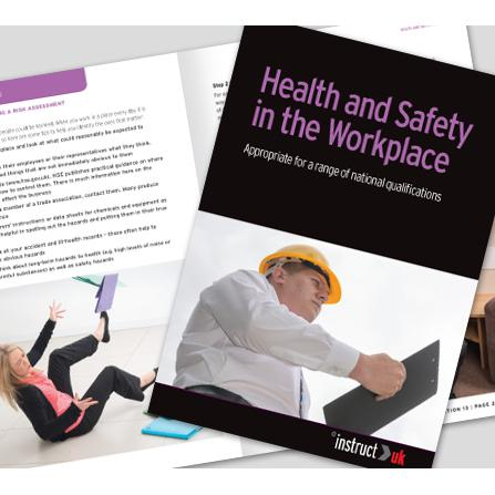 Click Medical Health And Safety Book Fully Illustrated Ref CM1318 *Up to 3 Day Leadtime*
