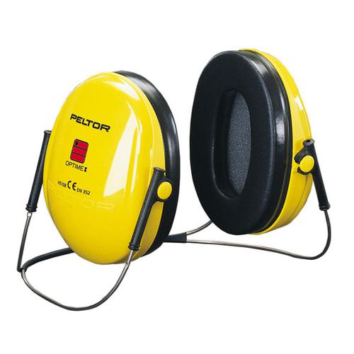Peltor Optime 1 Ear Defenders Neckband Behind Head Yellow Ref H510B *Up to 3 Day Leadtime*