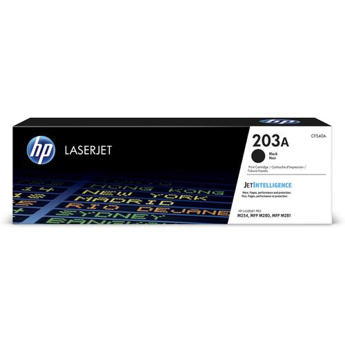 HP 203A LaserJet Toner Cartridge Page Life 1400pp Black Ref CF540A