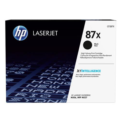 HP 87X Toner Cartridge High Yield Page Life 18000pp Black Ref CF287X