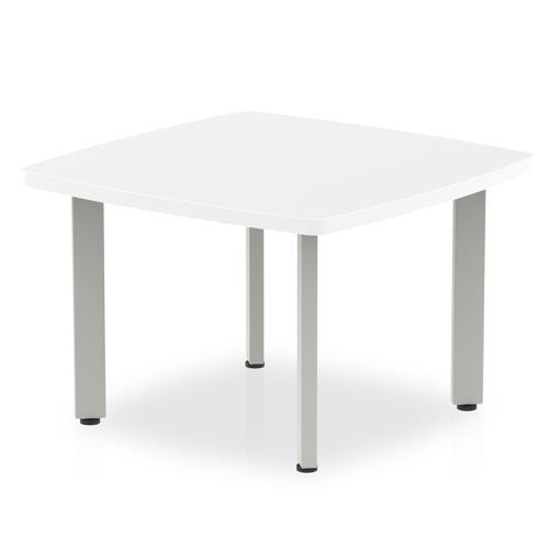 Trexus Coffee Table 600x600x450mm White Ref I000201