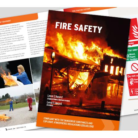 Click Medical Fire Safety Book Comprehensive Manual Fully Illustrated Ref CM1320 *Up to 3 Day Leadtime*