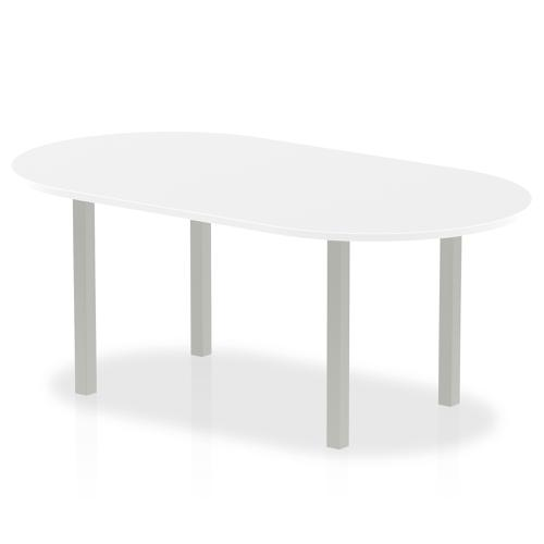 Trexus Boardroom Table 1800x1200x730mm White Ref I000203