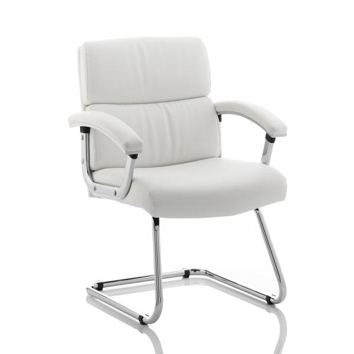 Sonix Desire Cantilever Chair With Arms White Ref BR000034