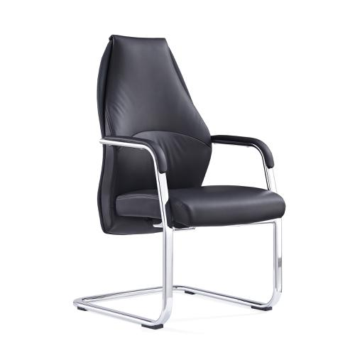 Adroit Mien Cantilever Chair Black Ref BR000211