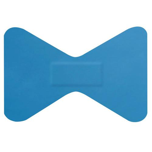 Click Medical Detectable Fingertip Plasters [Pack 50] Blue Ref CM0501 *Up to 3 Day Leadtime*