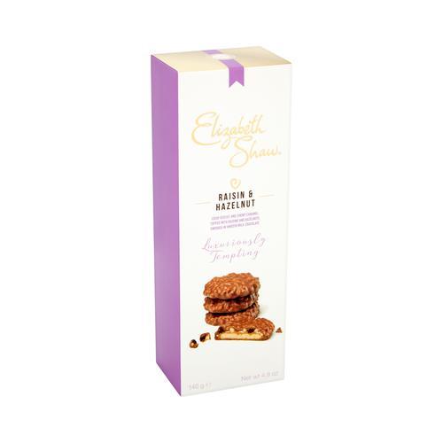 Elizabeth Shaw Raisin & Hazelnut Luxury Biscuits 140g Ref G1001