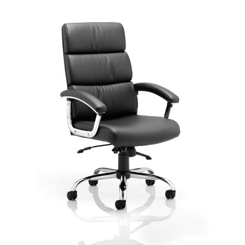 Sonix Desire High Executive Chair With Arms Black Ref EX000019