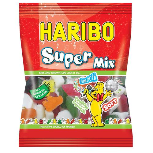 Haribo Supermix Sweets 140g Ref 72773