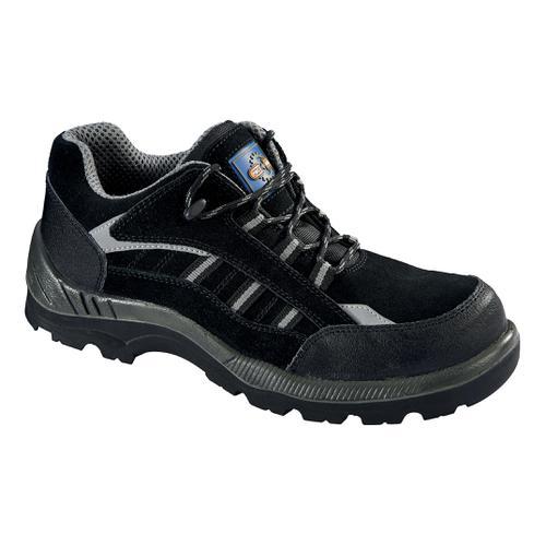 Rockfall ProMan Trainer Suede Fibreglass Toecap Black Size 14 Ref PM4040 14