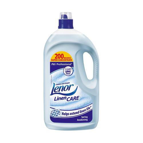 Lenor Professional Fabric Softener Spring Awakening 200 Washes 4 Litre Ref 87406