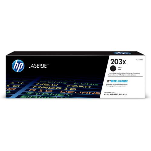 HP 203X LaserJet Toner Cartridge High Yield Page Life 3200pp Black Ref CF540X