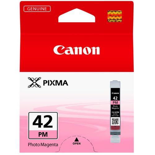 Canon CLI-42 Inkjet Cartridge Page Life 169pp 13ml Photo Magenta Ref 6389B001