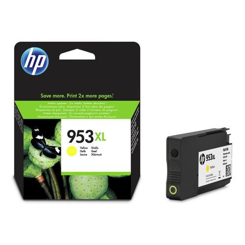 Hewlett Packard [HP] No.953XL Inkjet Cartridge High Yield 1600pp 20ml Yellow Ref F6U18AE