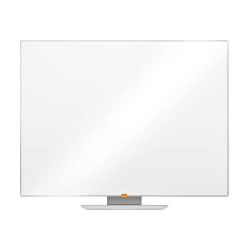 Nobo Classic Whiteboard Melamine Surface Non-magnetic Aluminium Trim W1200xH900mm White Ref 1905203