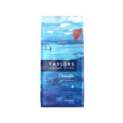 Taylors Decaffeinated Ground Coffee 227g Ref 0403099