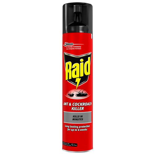 Raid Ant & Cockroach Insecticide Aerosol 300ml Ref 97734