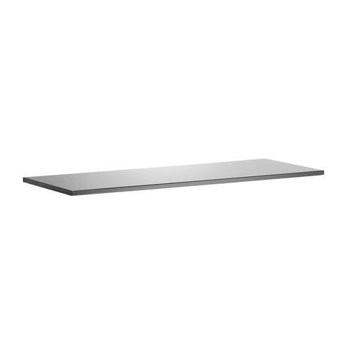 Sonix Credenza Top 1600x600x25mm High Gloss Black Ref I000735