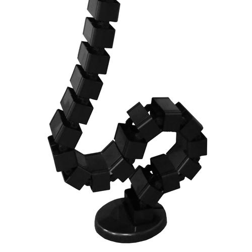 Trexus Cable Spine For Desk Height Adjustable Black Ref IP000144