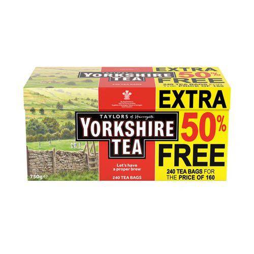 Yorkshire Tea Bags Ref 0403387 [Pack 240]