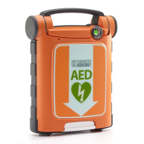 Cardiac Science G5 AED Defibrillator Kit Auto CPR with Carry Sleeve Ref CM1201 *Up to 3 Day Leadtime*