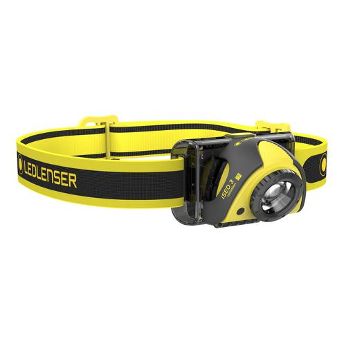 LED Lenser ISE03 Work Head Lamp 100 Lumens 100m Beam Water-resistant Ref LED5803 *Up to 3 Day Leadtime*