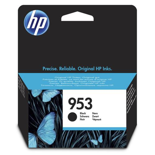 Hewlett Packard [HP] No.953 Inkjet Cartridge Page Life 1000pp 23.5ml Black Ref L0S58AE