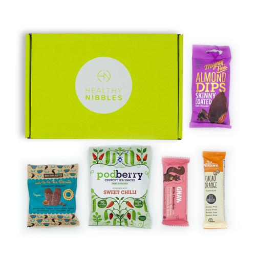 Healthy Nibbles 5 Piece Mini Box Ref Health5 *Up to 2-3 Day Leadtime*