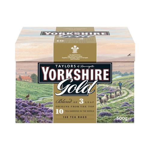 Yorkshire Gold Tea Bags Ref 0403384 [Pack 160]