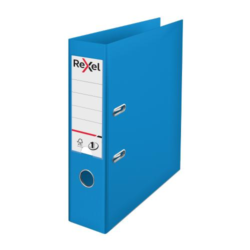 Rexel Choices LArch File PP 75mm A4 Blue Ref 2115503