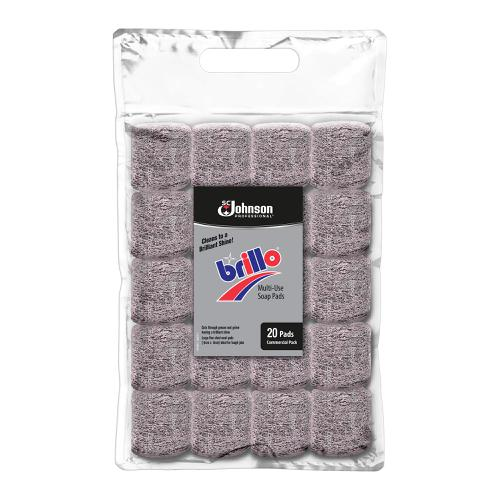Brillo Soap Jumbo Pads Ref 75856 [Pack 20]
