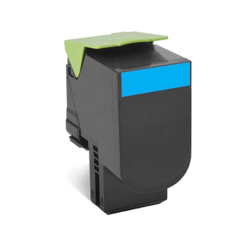 Lexmark 802XC Laser Toner Cartridge Return Programme Page Life 4000pp XHY Cyan Ref 80C2XC0