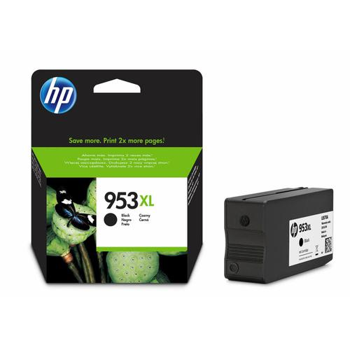 Hewlett Packard [HP] No.953XL Inkjet Cartridge High Yield 2000pp 42.5ml Black Ref L0S70AE