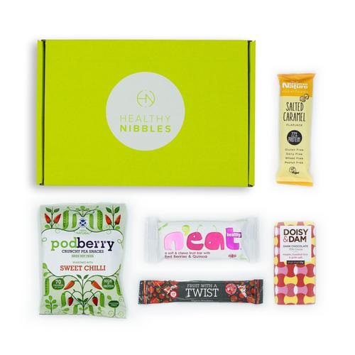 Healthy Nibbles Nut Free Snack 5 Piece Mini Box Ref NutFree5 *Up to 2-3 Day Leadtime*