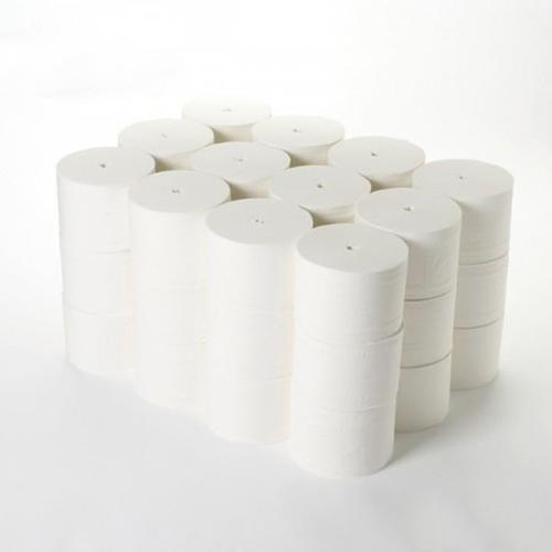 5 Star Facilities Coreless Toilet Roll Coreless 2-ply 95mmx96m White [Pack 36]